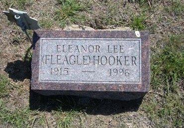 FLEAGLE HOOKER, ELEANOR LEE - Wichita County, Kansas   ELEANOR LEE FLEAGLE HOOKER - Kansas Gravestone Photos
