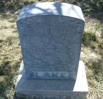 LAKE, MABEL M - Wichita County, Kansas | MABEL M LAKE - Kansas Gravestone Photos