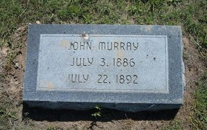 MURRAY, JOHN - Wichita County, Kansas | JOHN MURRAY - Kansas Gravestone Photos