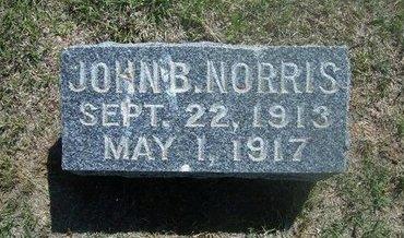 NORRIS, JOHN B - Wichita County, Kansas | JOHN B NORRIS - Kansas Gravestone Photos