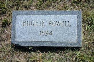 POWELL, HUGHIE - Wichita County, Kansas | HUGHIE POWELL - Kansas Gravestone Photos