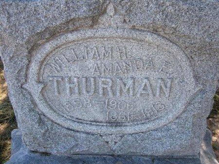THURMAN, WILLIAM H - Wichita County, Kansas | WILLIAM H THURMAN - Kansas Gravestone Photos