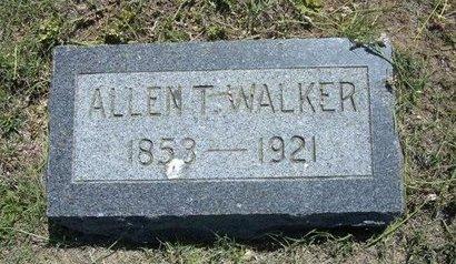 WALKER, ALLEN T - Wichita County, Kansas | ALLEN T WALKER - Kansas Gravestone Photos