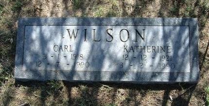 WILSON, CARL - Wichita County, Kansas | CARL WILSON - Kansas Gravestone Photos