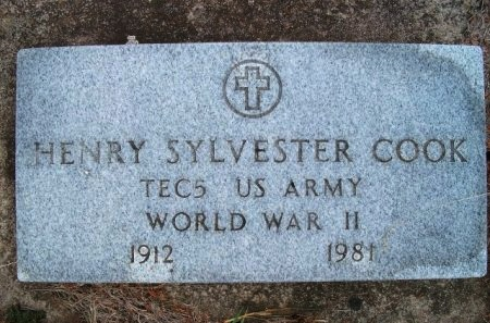 COOK, HENRY SYLVESTER (VETERAN WWII) - Woodson County, Kansas | HENRY SYLVESTER (VETERAN WWII) COOK - Kansas Gravestone Photos