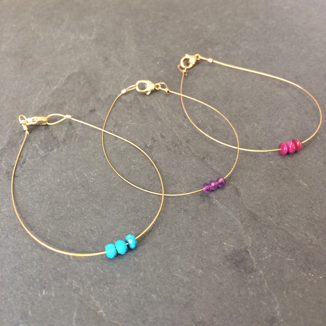 fea23a3b61cf3 Make Your Own Gemstone Friendship Bracelets   Kernowcraft