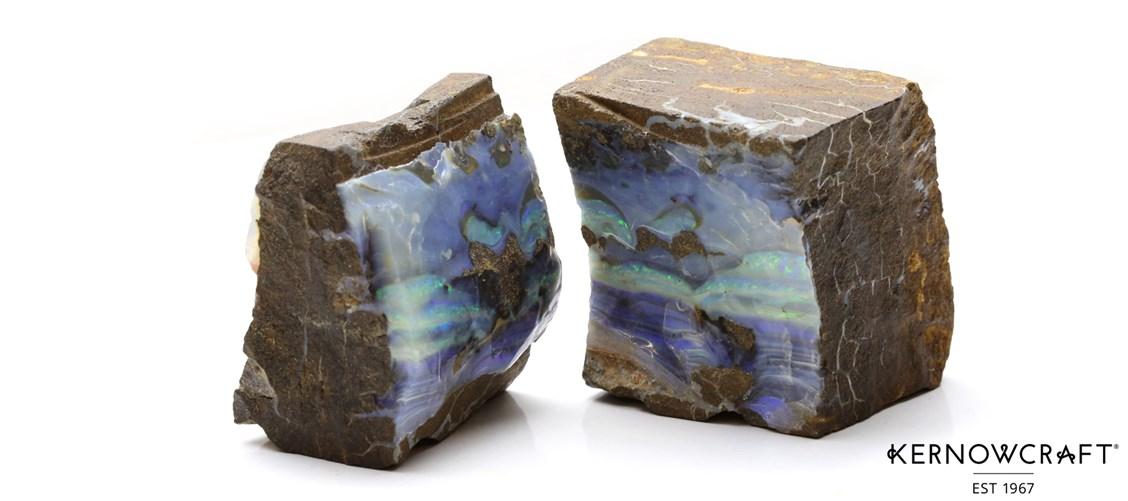 Boulder Opal Before Cutting