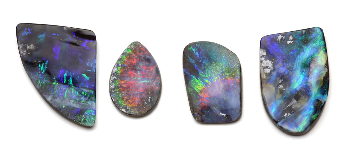 Example of high value boulder opals