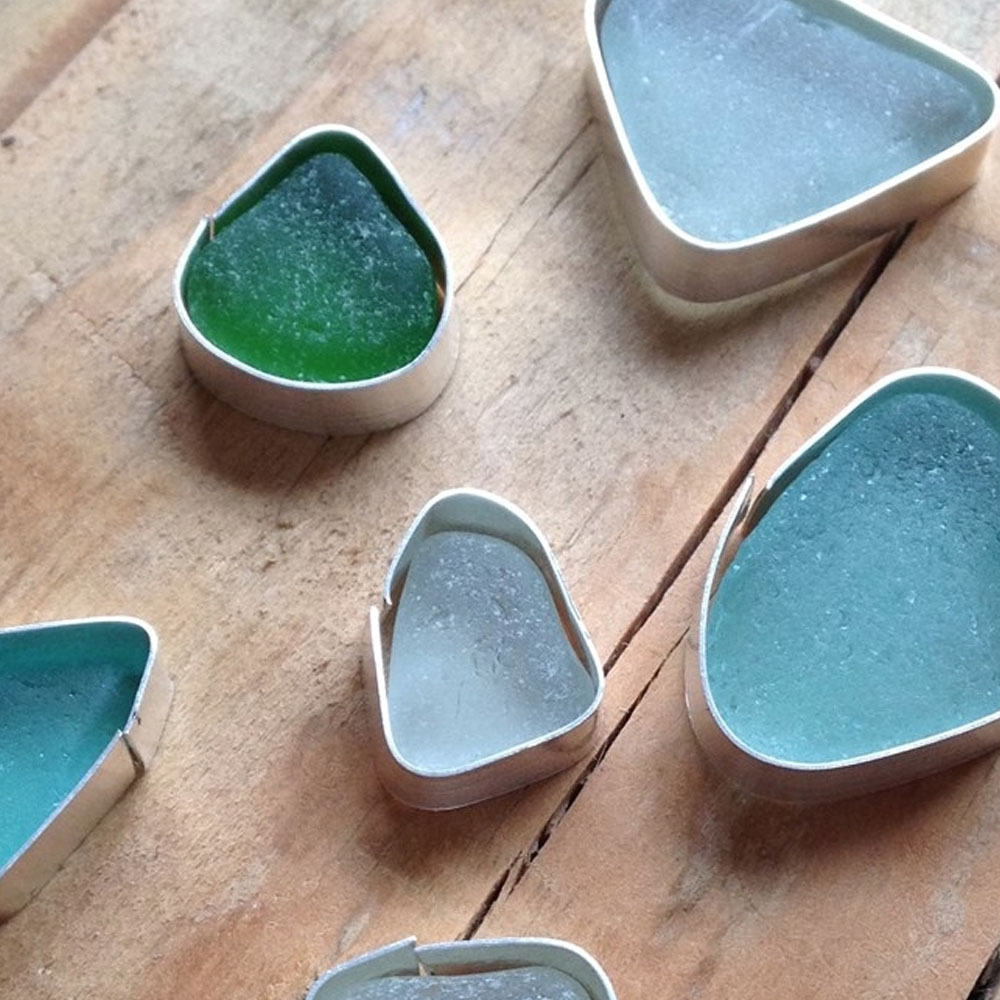 Working With Sea Glass | Kernowcraft