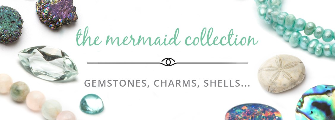 mermaid inspired gemstones