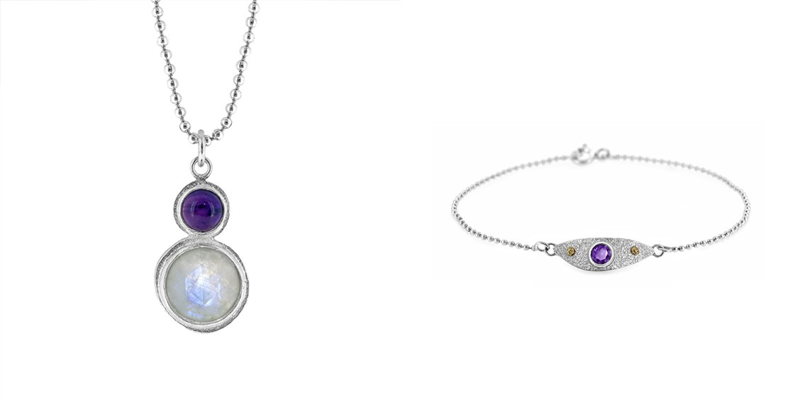 vikki hall amethyst jewellery