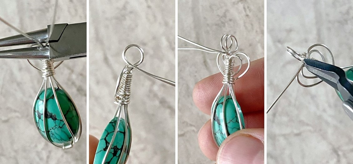 wire wrapped cabochon tutorial