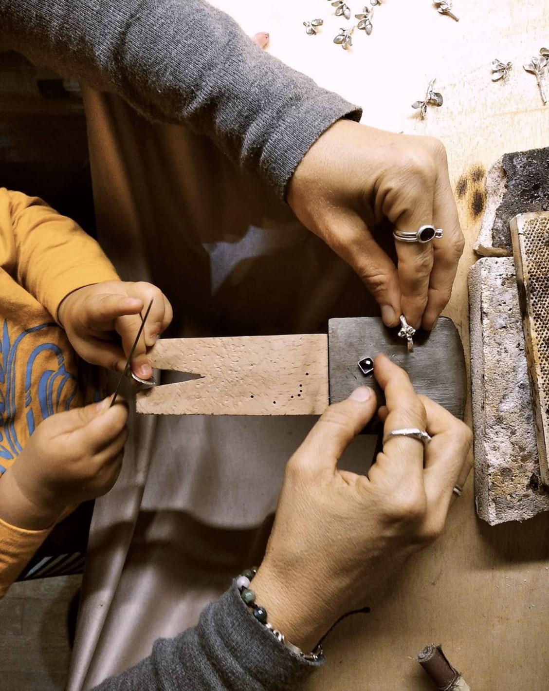 handmade hands