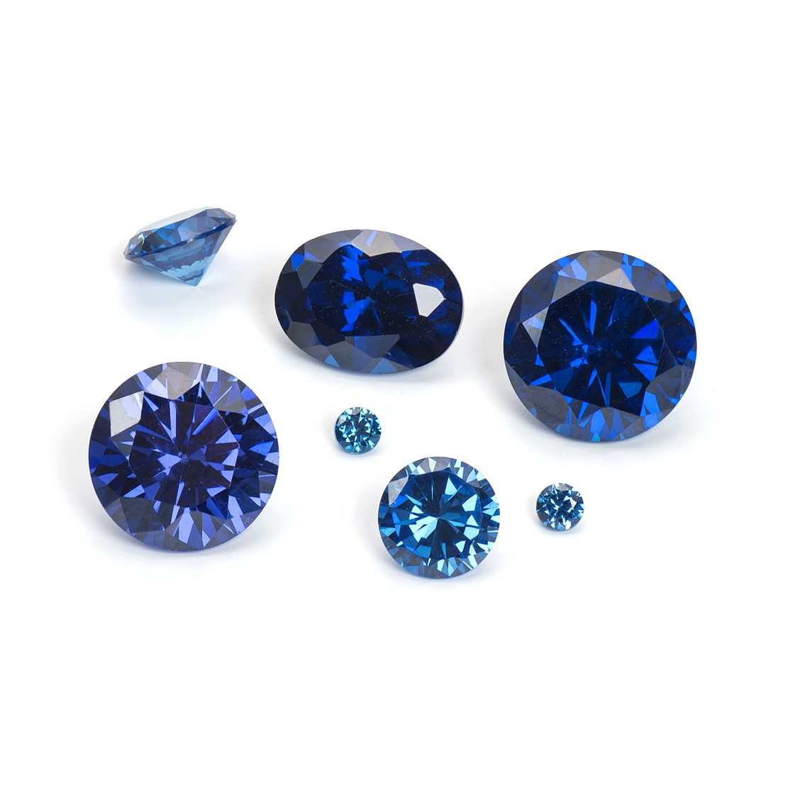 itm cut sapphire ebay blue emerald gemstones carat loose royal gemstone