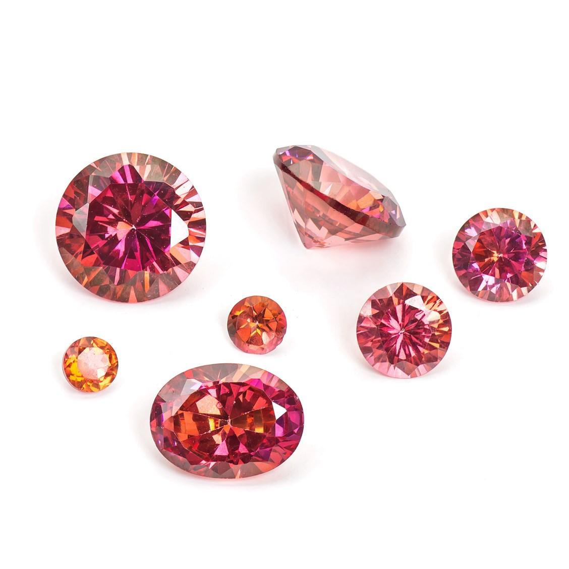 Gemstone Faceted Stones