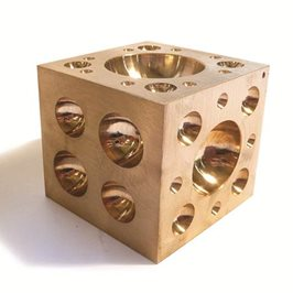 Brass Doming Block