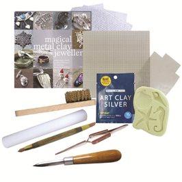 Beginner's Art Clay Silver Kit - Gas Hob Firing