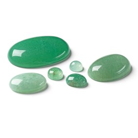 Green Aventurine Cabochons