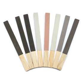 Set Of 8 Sanding And Polishing Sticks