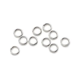 Sterling Silver 3mm Round Jump Rings (Pack of 10)