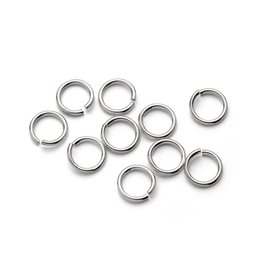 Sterling Silver 7mm Round Jump Rings (Pack of 10)
