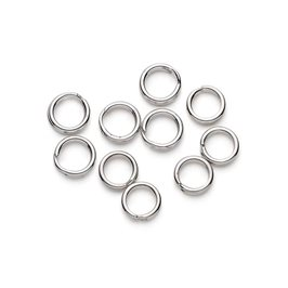 Sterling Silver 5mm Split Rings