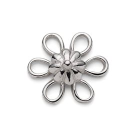 Sterling Silver Six Loop Flower Connector Link