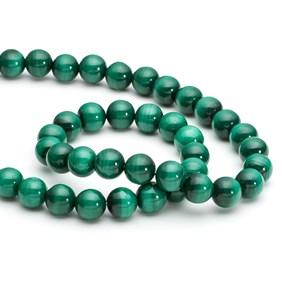 Malachite Round Beads