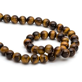 Golden Tiger's Eye Round Beads