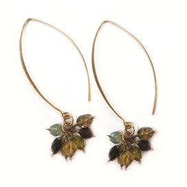 Tourmaline Sunset Earrings