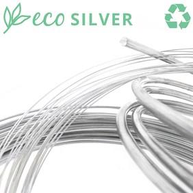 EcoSilver Sterling Silver Round Wire