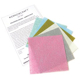 Sample Pack Of Polishing Papers