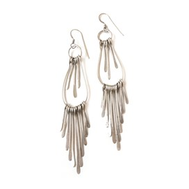 Sterling Silver Raindrop Earrings
