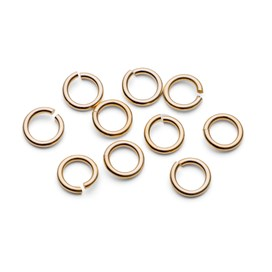 9ct Gold 7mm Round Jump Rings