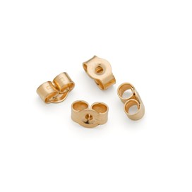 9ct Gold Medium 5mm Earring Back