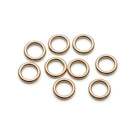 9ct Gold 5mm Soldered Jump Rings