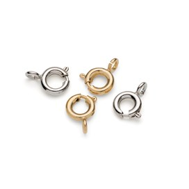 Plated Bolt Rings with Open Ring (Pack of 10)