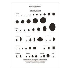 gemstone size guide