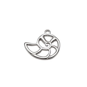 Sterling Silver Nautilus Charm