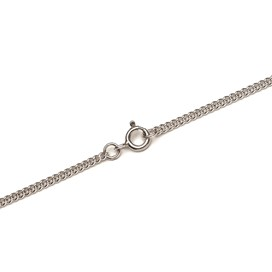 Sterling Silver Heavy Curb Chain, Loose Chain