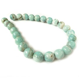 Peruvian Amazonite Round Beads 16mm