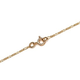 9ct Gold Filed Figaro Chain