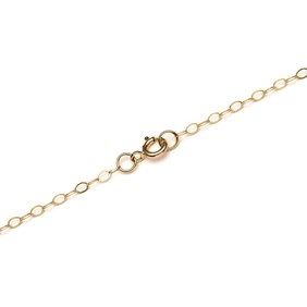 9ct Gold Fine Flat Trace Chain