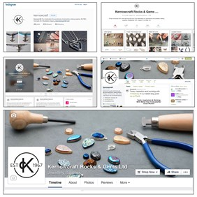 Find Kernowcraft of Facebook - Jewellery making supplies news and updates