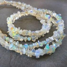 Ethiopian Opal Chip Beads