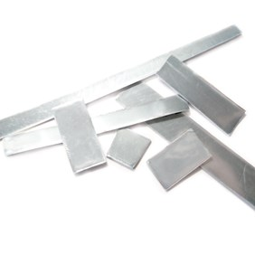 Assorted Mixed Gauge Sterling Silver Sheet Pack, Approx 10g (2 gauges)