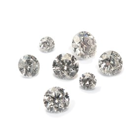 Diamond Faceted Stones