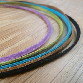 Micro Fibre Flat Suede Cord, 3mm