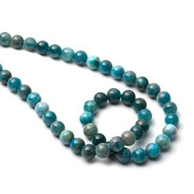 Apatite Round Beads, 6mm