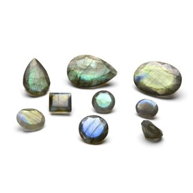 Labradorite Faceted Stones
